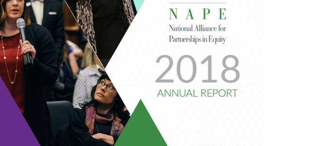 View our 2018 Annual Report and see how, with your help, we've successfully advocated for and promoted equity in education and the workforce.
