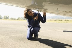 Female Airplane Mechanic 243x161 custom Nontraditional Occupations Crosswalk